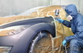 Покраска автомобиля в камере