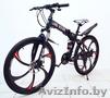 Велосипед на литых дисках Land Rover (Чёрный)
