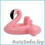 Детский надувной круг Фламинго
