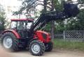 Фронтальный погрузчик ПТМ-1100 на трактор МТЗ 922.3